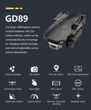 GlobalDrone-GD89-1-320x386 Il drone più venduto in Italia: GlobalDrone GD89, WiFi 1080P