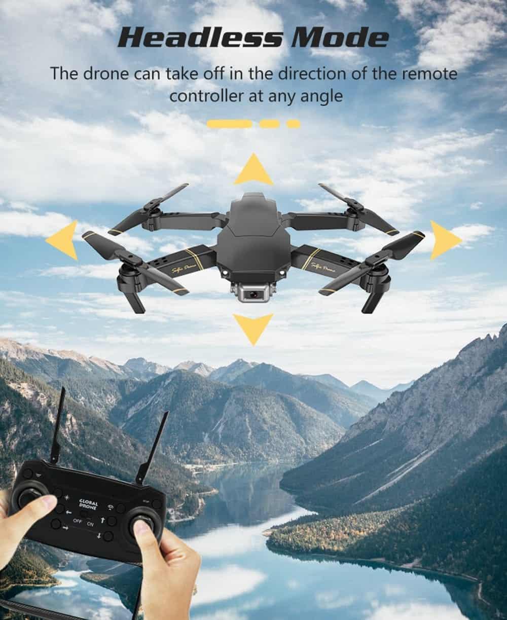 Il drone più venduto in Italia: GlobalDrone GD89, WiFi 1080P