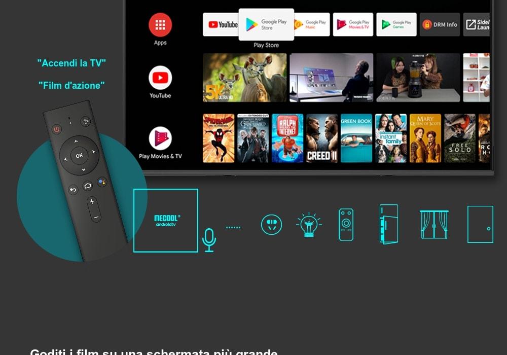 Codice Sconto 35.99€ MECOOL KM9 Pro Box Tv 4K