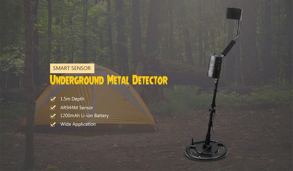Metal DETECTOR per Oro in offerta 64€, SMART SENSOR con batteria
