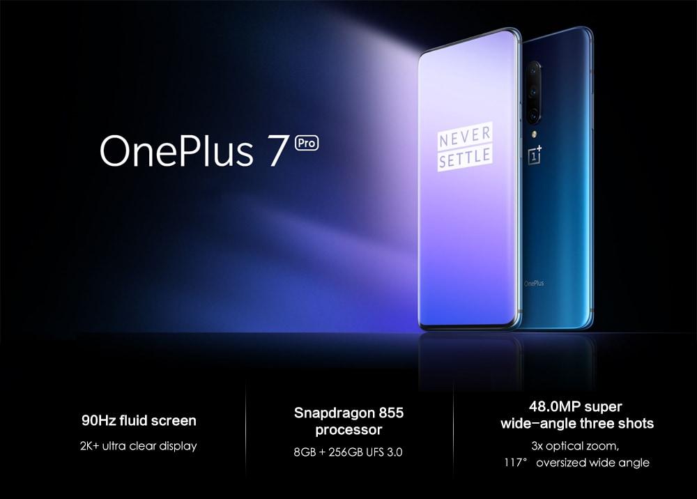 Offerta OnePlus 7 Pro 657€, lo smartphone Android 9.0 di qualità