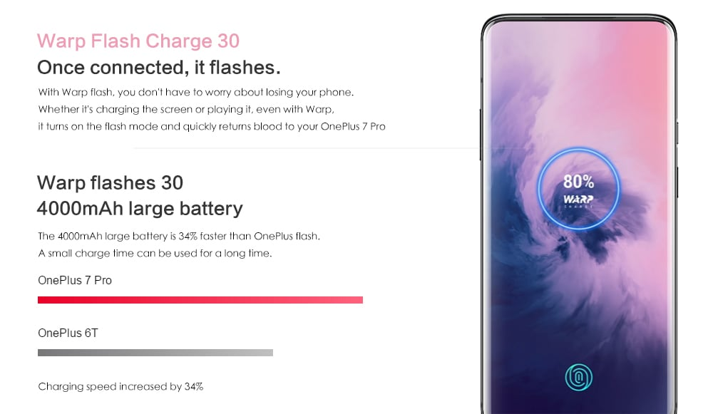 Offerta OnePlus 7 Pro da 256gb: 650€, codice sconto per 60 pezzi