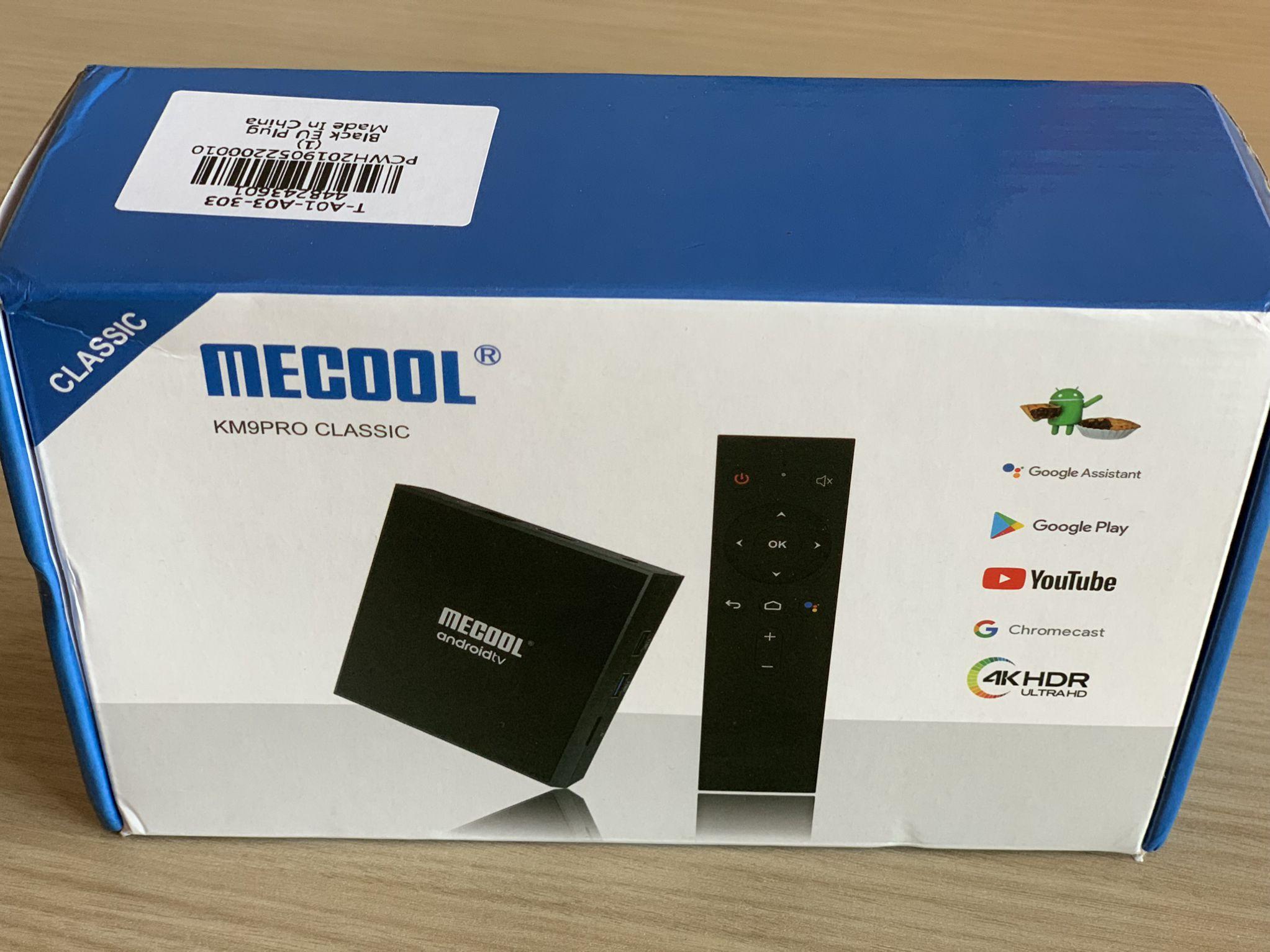 Miglior Box Tv 4k con Andorid 9.0: Mecool KM9 PRO in offerta