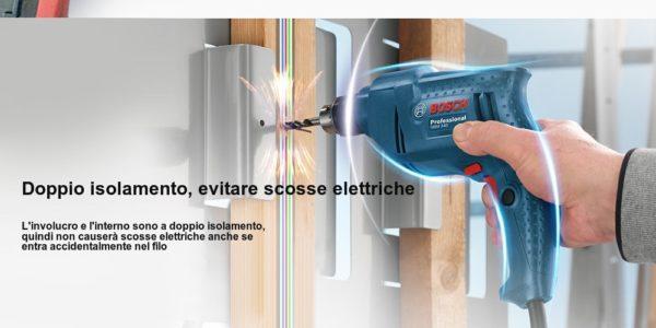 trapano-Bosch-GBM340-1-600x300 Trapano Bosh Professional in Offerta a 45€, 340w velocità regolabile