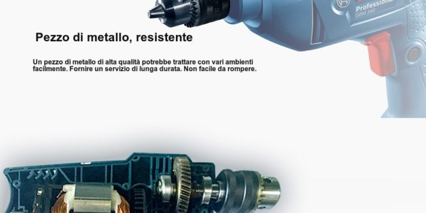 trapano-Bosch-GBM340-2-600x300 Trapano Bosh Professional in Offerta a 45€, 340w velocità regolabile