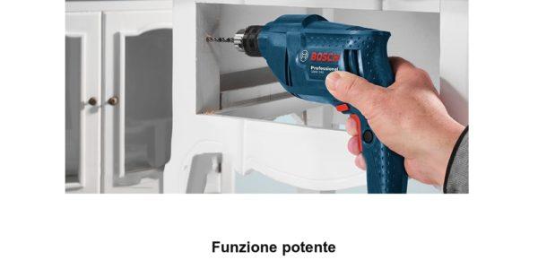 trapano-Bosch-GBM340-3-600x300 Trapano Bosh Professional in Offerta a 45€, 340w velocità regolabile