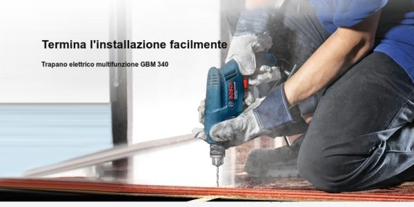 trapano-Bosch-GBM340-4-600x300 Trapano Bosh Professional in Offerta a 45€, 340w velocità regolabile