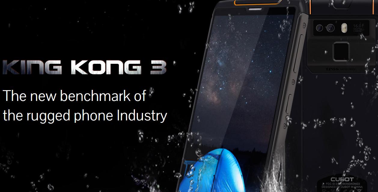 Cubot-King-Kong-3 I migliori smartphone Android CUBOT a meno di 200€, qualità e convenienza