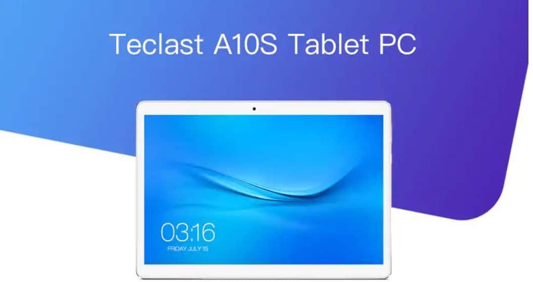 Offerta Teclast A10S a 80€, tablet cinese da 10 pollici più venduto
