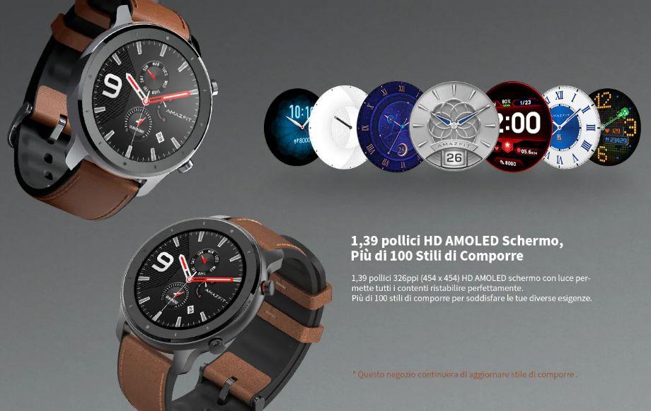 huami-amazfit-GTR-2 Amazfit GTR a 135€, il nuovo Smartwatch Huami, Dettagli e Specifiche