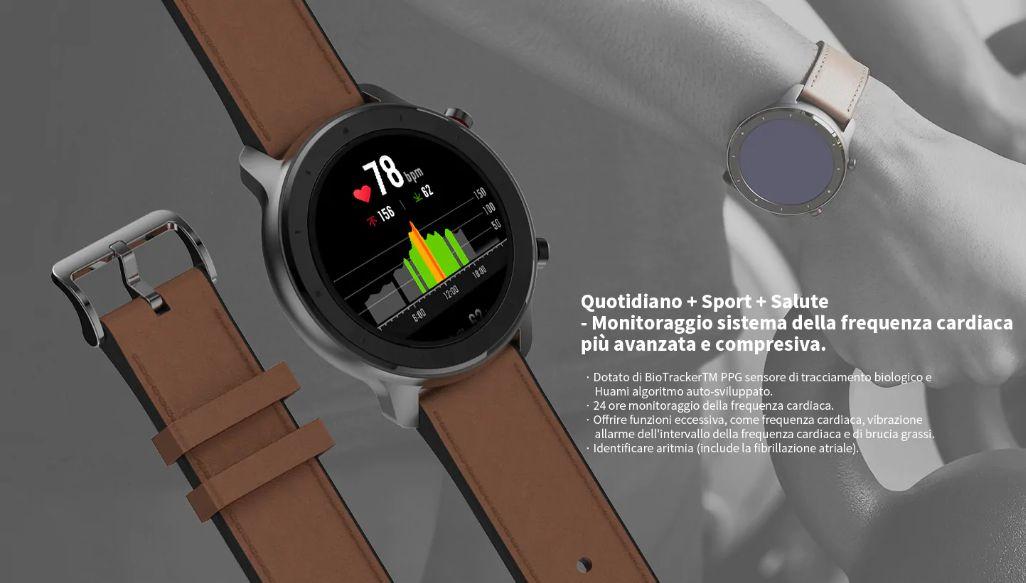 huami-amazfit-GTR-4 Amazfit GTR a 135€, il nuovo Smartwatch Huami, Dettagli e Specifiche