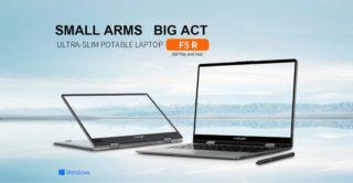 Offerta Teclast F5R a 295€, notebook touch convertibile a 360° da 11.6 pollici
