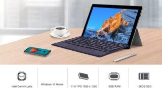 Codice Sconto Teclast X4: 337€, tablet cinese 2 in 1 con Tastiera