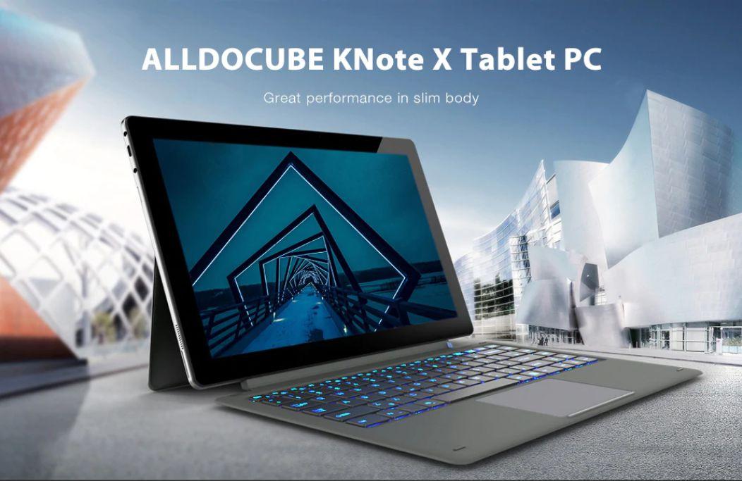 Codice sconto ALLDOCUBE KNote X 2-in-1 a 399€, Tastiera e Stilo inclusi