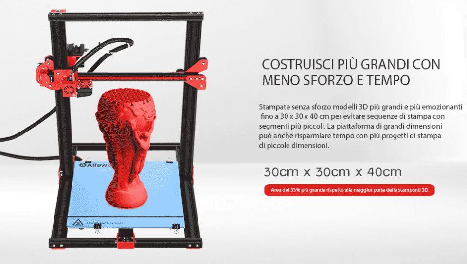 Codice Sconto stampanti 3D Alfawise U20, U20 Plus e U30, la miglior scelta economica