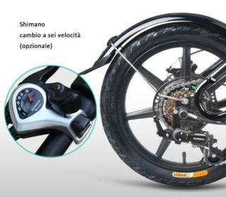 FIIDO-D3-4-320x280 Offerta FIIDO D3 a 472€, la bici elettrica con cambio SHIMANO