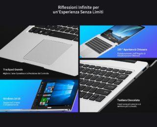 ALLDOCUBE-Kbook-5-320x259 Specifiche Complete KUU K1, Notebook Cinese più venduto 2020