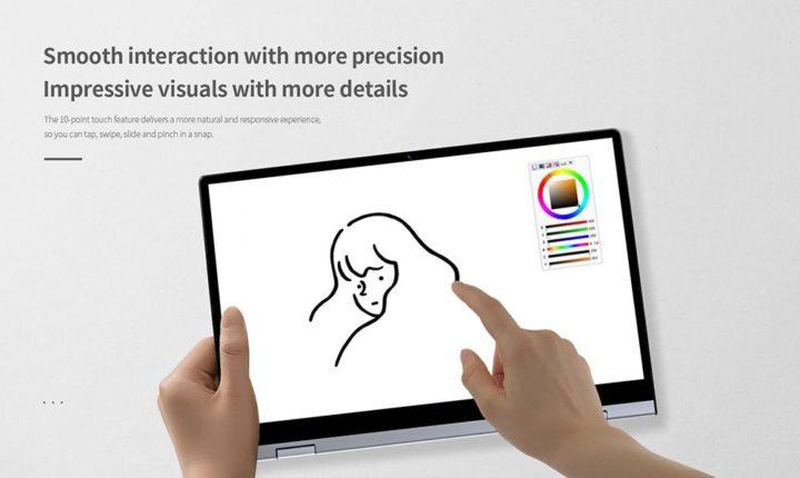 BMAX-Y13-12-720x430 BMAX Y13, un ottimo notebook cinese completo: 2 in 1, touch, FullHD