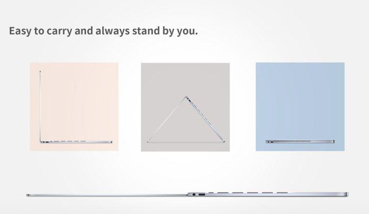 BMAX-Y13-3-720x418 Offerta notebook cinese BMAX Y13 a 327€, convertibile stile Yoga