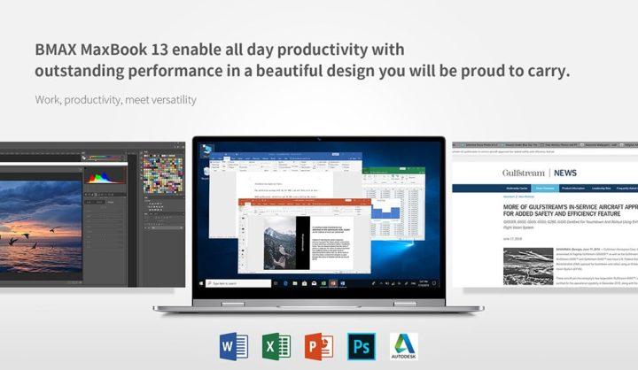 BMAX-Y13-9-720x418 Offerta notebook cinese BMAX Y13 a 327€, convertibile stile Yoga