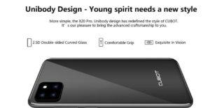 CUBOT-X20-Pro-3-320x155 Offerta CUBOT X20 PRO a 135€, dal 16 settembre smartphone con 3 fotocamere posteriori