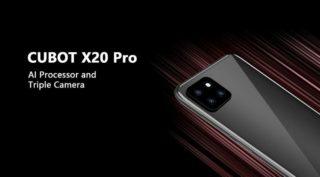 Offerta CUBOT X20 PRO a 135€, dal 16 settembre smartphone con 3 fotocamere posteriori