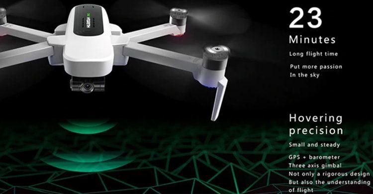 Il-miglior-Drone-4K-economico-con-GPS-DJI-5 Il miglior Drone 4K economico con GPS: DJI Hubsan Zino H117S