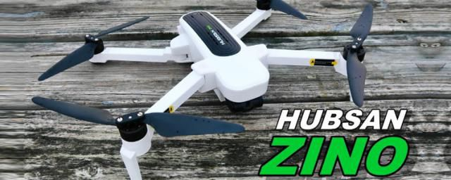 Il miglior Drone 4K economico con GPS: DJI Hubsan Zino H117S