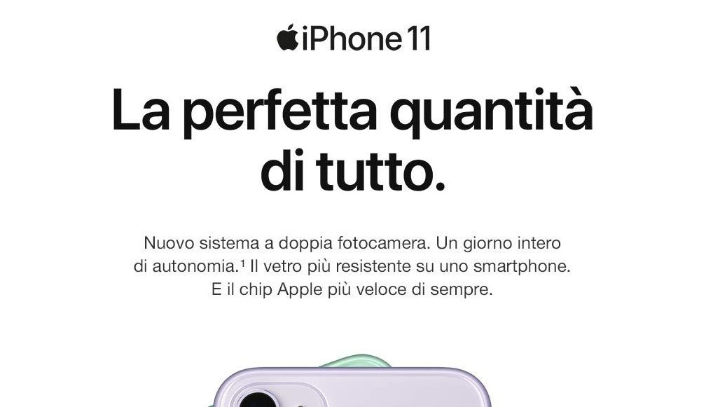 iPhone 11, iPhone 11 Pro e iPhone 11 Pro Max: Specifiche a confronto