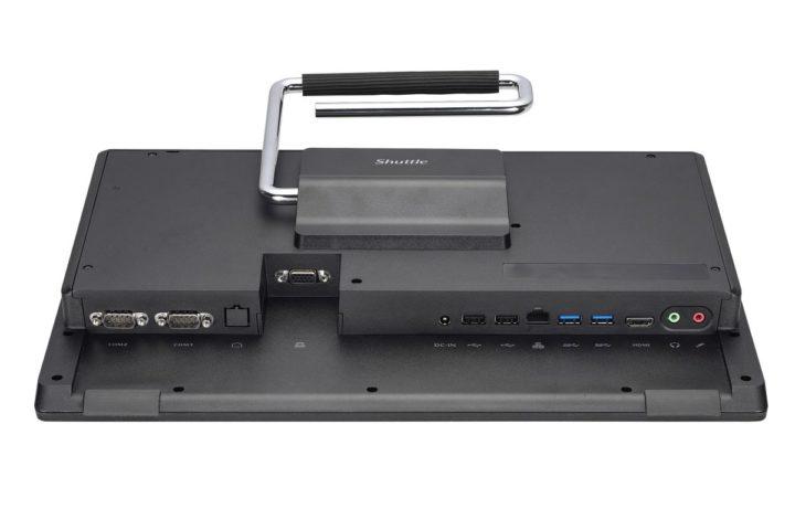 Shuttle-XPC-6-720x480 Shuttle XPC all-in-one P51U, il PC per piccoli Uffici e Negozi