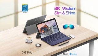 Il nuovo tablet 2 in 1: Teclast X6 Pro: display 3K, 8Gb di ram e 256Gb SSD