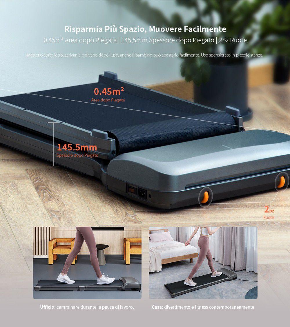 Codice sconto tapis roulant WalkingPad C1 a 336€, incluso telecomando e app