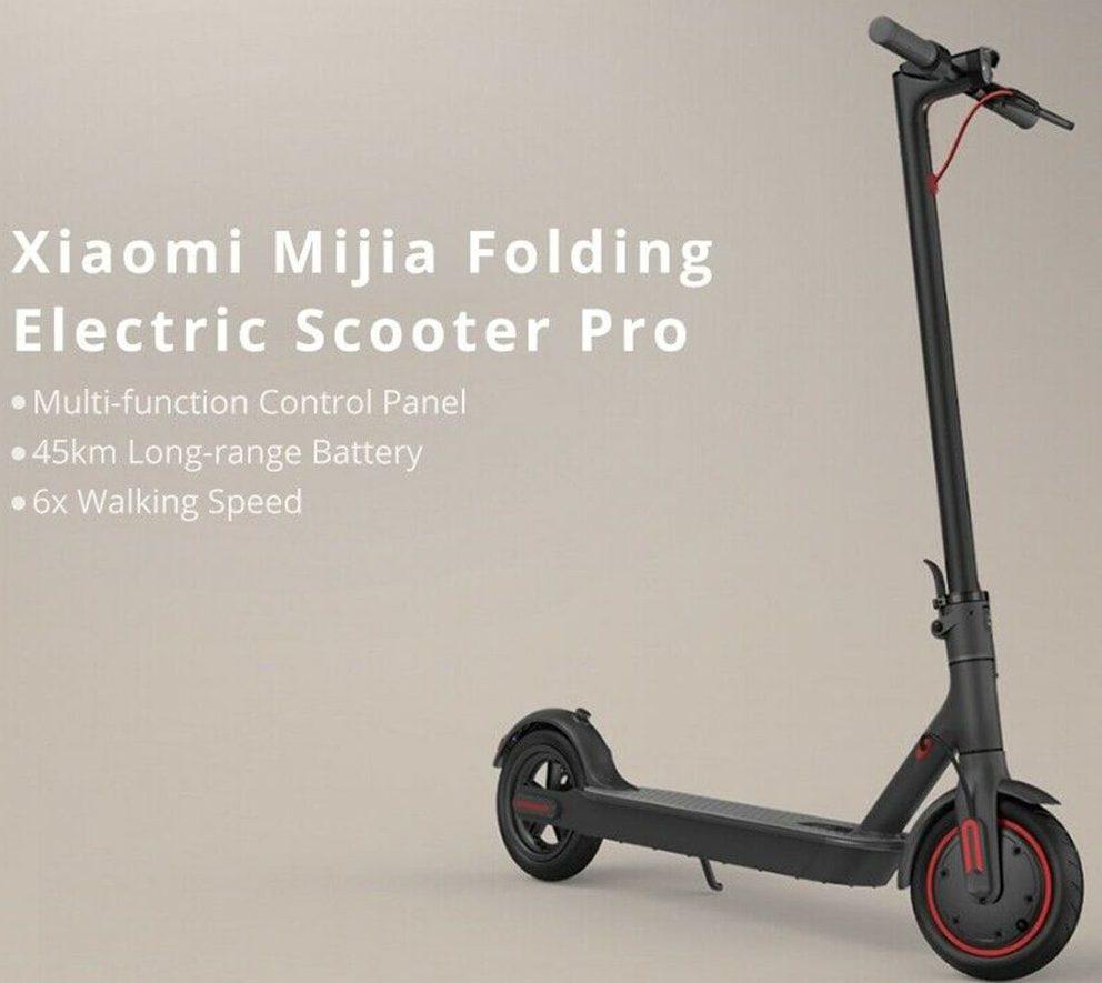 Offerta Xiaomi Mijia Scooter Pro fino a 45 km: a 455€ da magazzino Europa