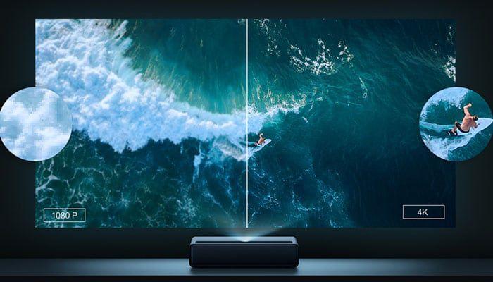 Xiaomi-Proiettore-Laser-TV-4K-2-1 Xiaomi Proiettore Laser TV 4K, fino a 150 pollici per l'home theater