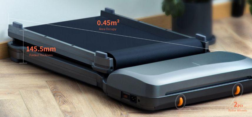 Xiaomi-WalkingPad-C1-1 Il nuovo tapis roulant Xiaomi WalkingPad C1 pieghevole con APP + telecomando