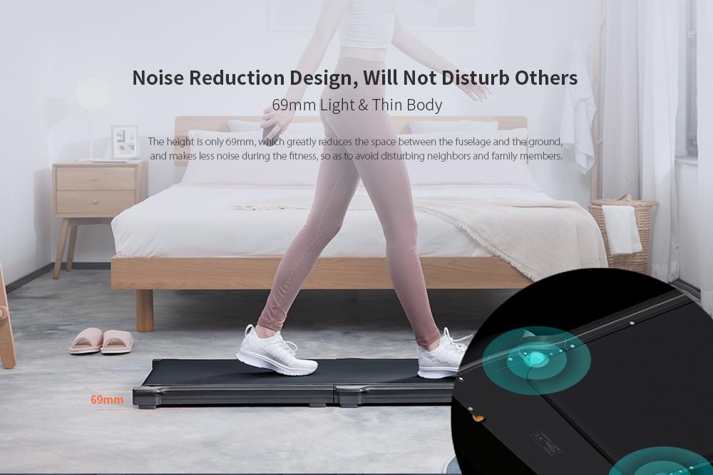 Il nuovo tapis roulant Xiaomi WalkingPad C1 pieghevole con APP + telecomando