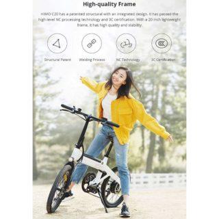 bici-elettrica-Xiaomi-HIMO-C20-1-320x320 Offerta bici elettrica Xiaomi HIMO C20 a 682€, fino a 80km di autonomia
