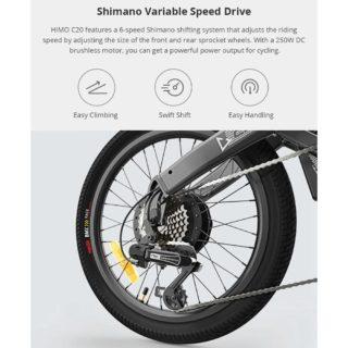 bici-elettrica-Xiaomi-HIMO-C20-12-320x320 Offerta bici elettrica Xiaomi HIMO C20 a 682€, fino a 80km di autonomia