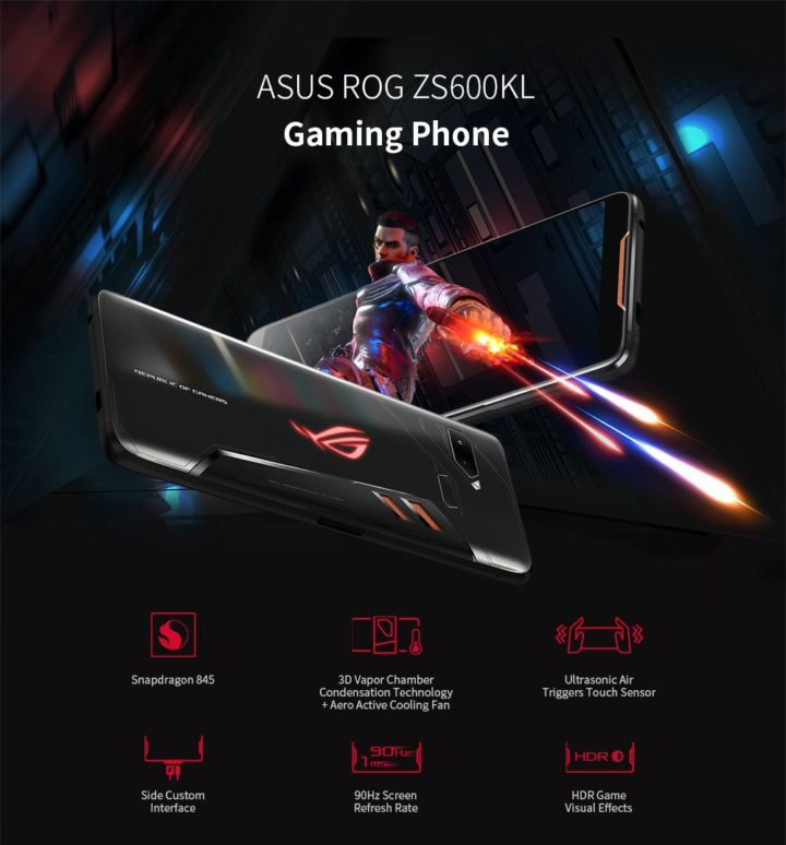 ASUS-ROG-ZS600KL-2-720x774 Offerta ASUS ROG ZS600KL a 409€, il miglior smartphone per Gaming