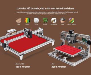 Alfawise-C30-2500mw-2-320x263 Codice Sconto Alfawise C30 a 151€, l'incisore Laser economico per Legno, Plastica..