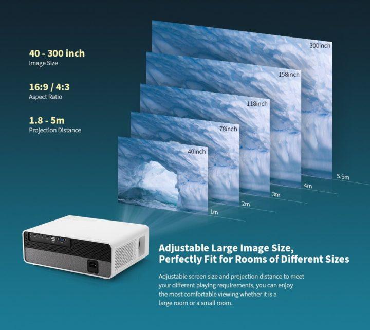 Alfawise-Q9-6-720x642 Codice sconto Alfawise Q9 a 161€, il proiettore FullHD fino a 300 pollici!