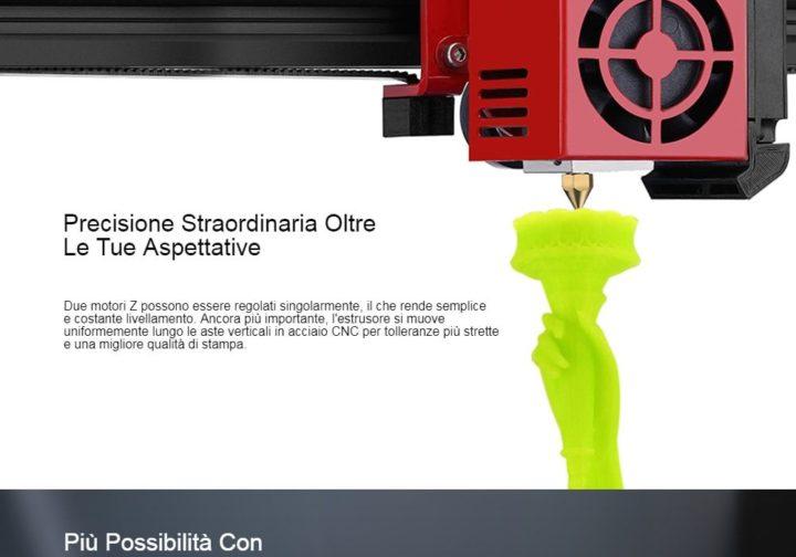 Alfawise-U20-ONE-3-720x504 Codice sconro Alfawise U20 ONE a 265€, stampante 3D con monitor touch