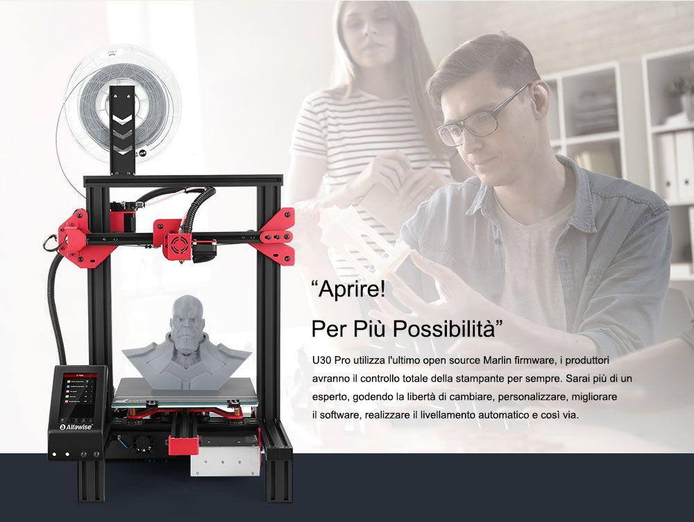 Codice Sconto Alfawise U30 Pro a 195€, la migliore stampante 3D economica