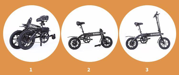 Alfawise-X1-7 Alfawise X1, la bici elettrica Economica per la città, Dettagli e Offerte