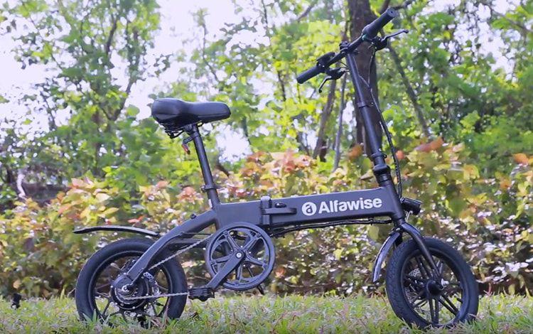 Alfawise-X1-9 Alfawise X1, la bici elettrica Economica per la città, Dettagli e Offerte