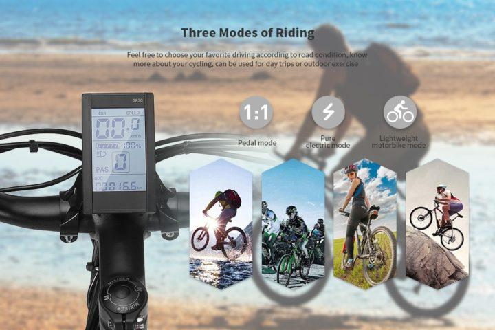 Alfawise-X2-3-720x480 Offerta Alfawise X2 a 730€, la nuova bici elettrica da 26 pollici