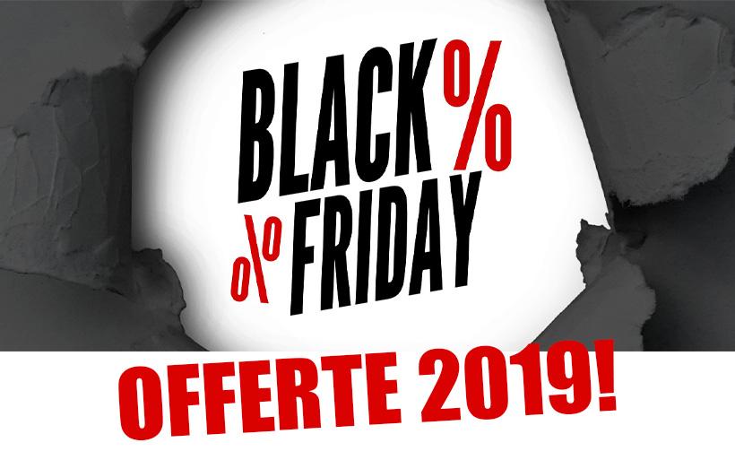 Black Friday 2019: Offerte, Date, e Codici Sconto dell'evento dell'anno di Amazon e Gearbest