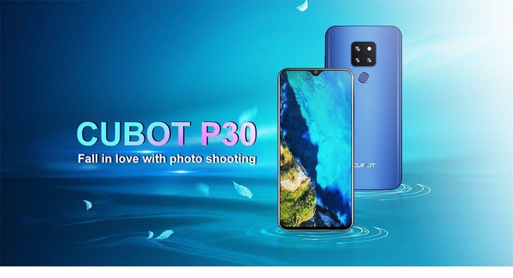 Offerta CUBOT P30 a 118€, il clone di Huawei Mate 20, economico ma Potente