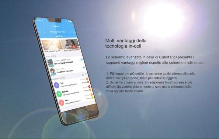 Codice-Sconto-Cubot-P20-112€-5-720x459 Codice sconto Cubot P20 a 112€, smartphone low cost di fascia media!