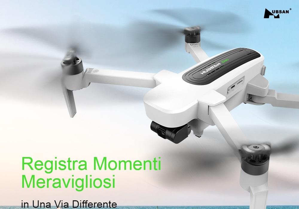 Codice Sconto Hubsan H117S Zino a 216€, il drone 4K economico per foto e video